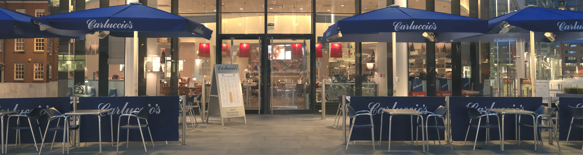 Carluccios, Spinningfields