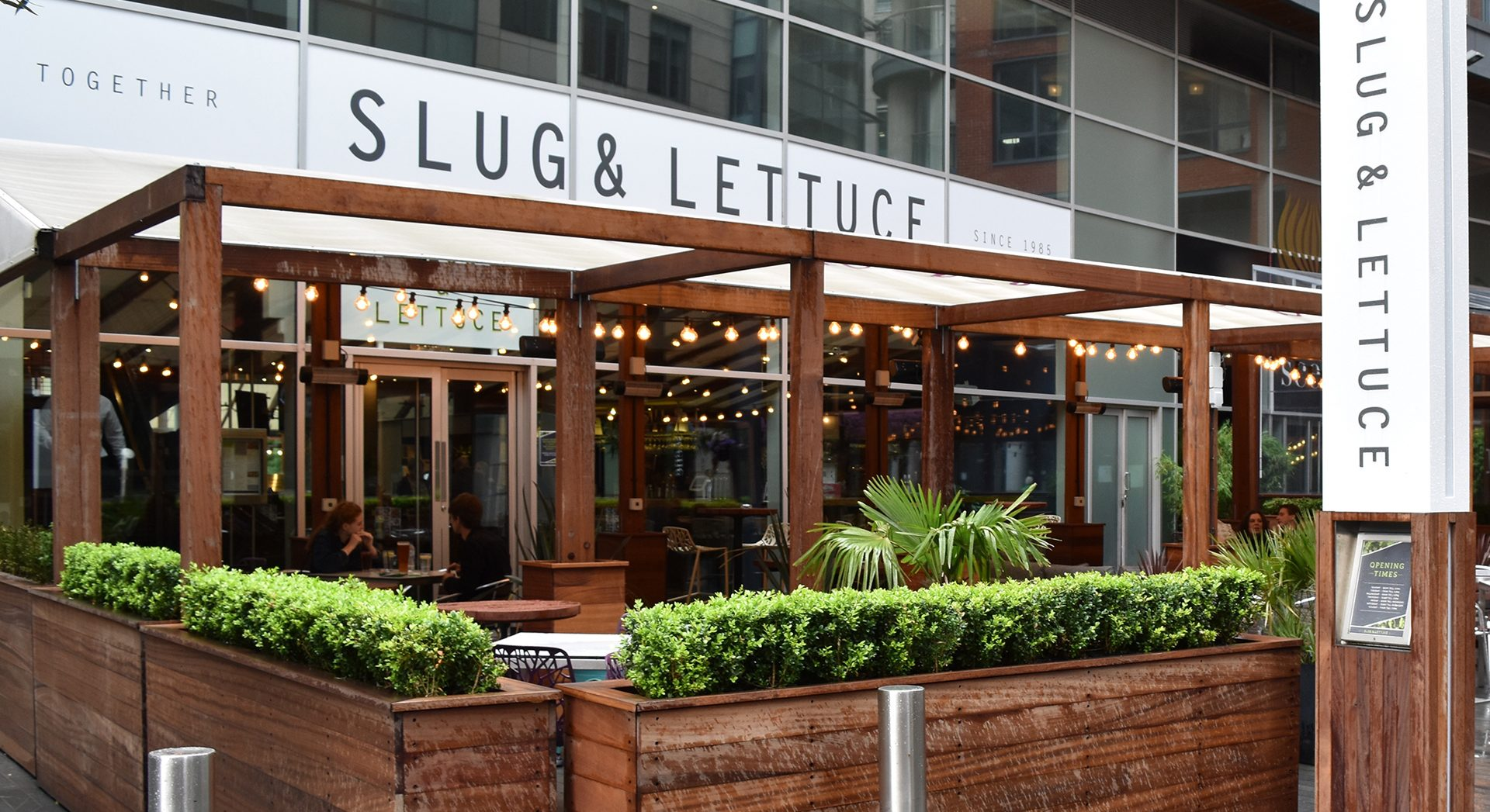 slug and lettuce spinningfields manchester