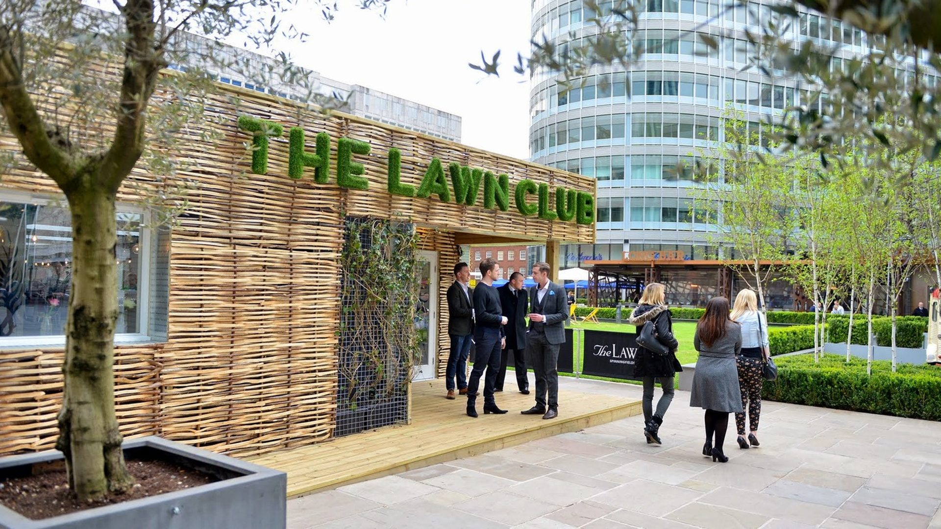 the lawn club spinningfields