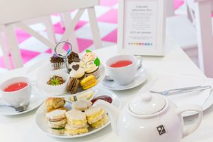 hey little cupcake afternoon tea