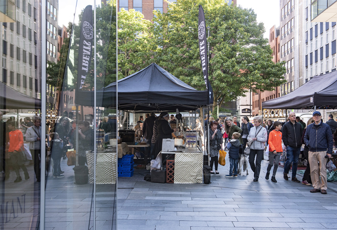Mutts and Makers Market 2018, Spinningfields
